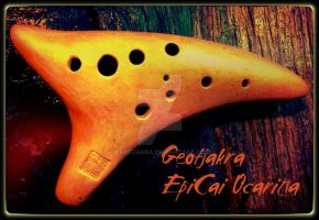 Golden EpiCai Ocarina by Geotjakra