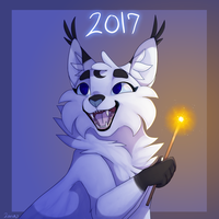 Happy New Years !! Redraw 2.0 by XxLunaWarriorxX