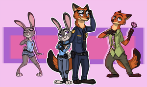 Judy and Nick by LimosNesia