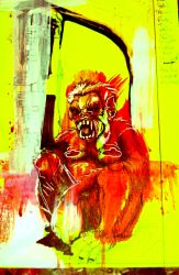 high color saturations mutant monk part 1 by jerrycolombin