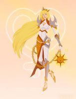Sailor Venus: The Valkyrie by emengel