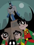 Bats and Robins by The-BlackCat