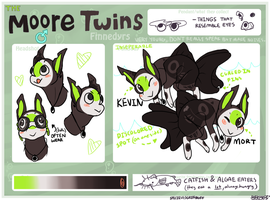 The Moore Twins by Bekepose