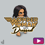 Watch Wonder Woman get dressed by Area-44