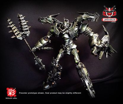TRANSFORMERS AOE LEADER GRIMLOCK REPAINT MP 05 by wongjoe82