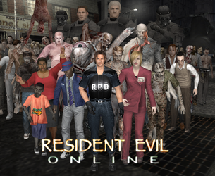 Resident Evil Online/Network Biohazard by Tyrant0400Tp