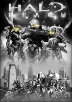 Halo Reach - Poster V1 by Crussong
