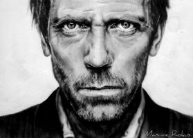 Hugh Laurie by maximerokus