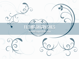 Flourish Brushes by xara24