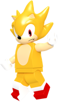 Lego Super Sonic by JaysonJeanChannel
