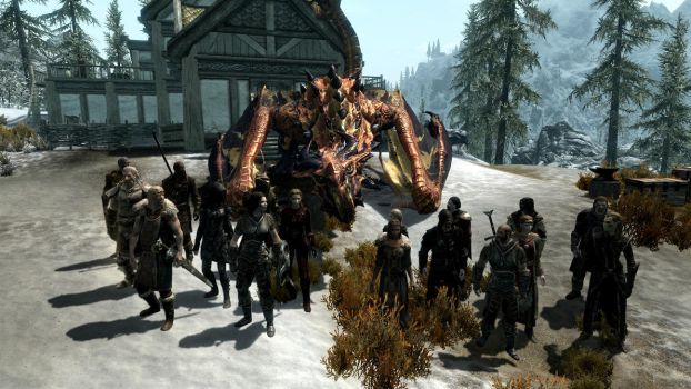 Party at the Dovahkiin. Part 15. A Night Like That by totalfreak2002