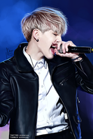 On stage: Suga by xCollecx