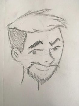 JackSepticEye quick sketch (re-upload) by PeterSFay