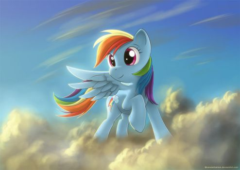 Rainbow Dash - FiM by BionicleGahlok