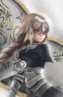Jeanne d'Arc by WindHydra