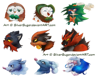 Nuzlocke Icons For Dookieshed by SilverSugar