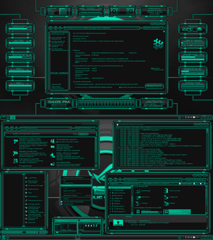 Tema Evolucion 4 Windows 10 TH2 by Agelyk by Agelyk
