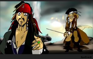 Oh..look Hector!Whops!   (PotC  Anime Movie Style) by KomyFly