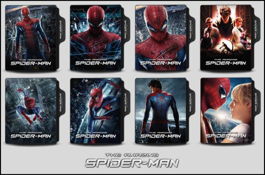 The Amazing Spider-Man (2012) Folder Icons by OnlyStyleMatters