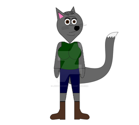 Grizzlorie The Wolf (Alternate clothing) by JustDancer13