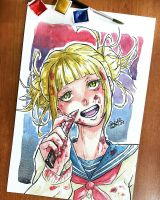 Toga Himiko by SuperG0blin
