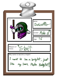 Knight School - Dolcetto by DummyHeart
