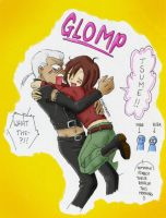 Tsume's Glomp by 50-Shades-Of-Faye