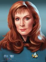 Beverly Crusher by GS-Arts