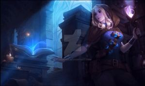League of Legends Spellthief Lux Animated by CJXander
