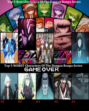 MY Top 5 Best And Worst Danganronpa Characters Pt2 By NightWingSurge On DeviantArt