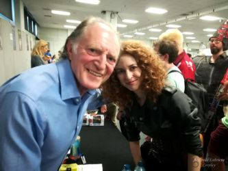 Meeting David Bradley at LFCC 2018 - II by ArwendeLuhtiene