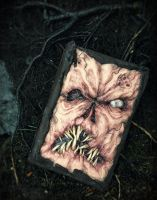 custom Necronomicon book of the dead prop by dogzillalives