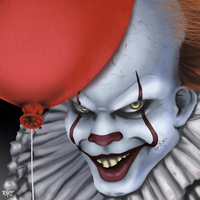 Pennywise - IT by RafaDG