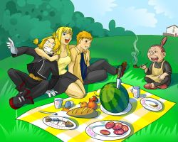 picnic by ZhdaNN