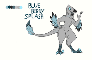 Blueberry Splash (smoothie?) by UnluckyFowl