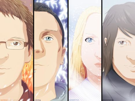 Portrait Collab by HulfBlood