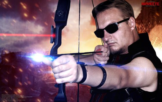 Hawkeye Cosplay - Wallpaper by Joran-Belar