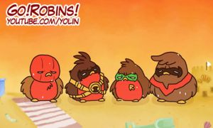 Go!Robins! - Hot Summer (+ Contest) by yolin