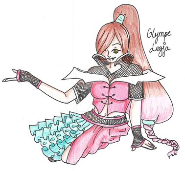 Back to normal - Olympe Legja - Tome4 by MarieLaCreatrice028