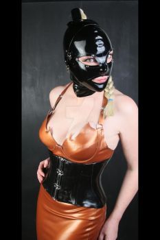 Gold and Black Latex by LatexModel