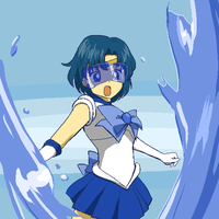 Sailor Mercury by Rhodonite