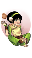 Toph Bei Fong by AninhaT-T
