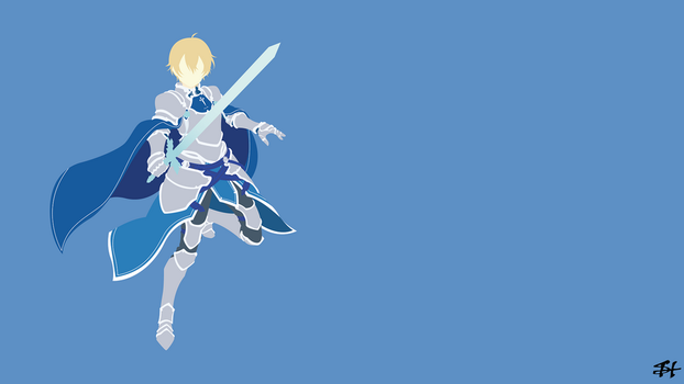 Eugeo (SAO) Minimalist Wallpaper by slezzy7