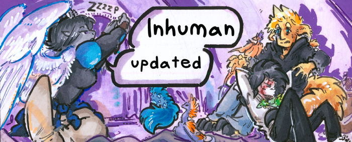 inhuman arc 16 pg 13 -link in the desc- by not-fun