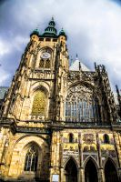 ST Vitus cathedral , Prague 2 by ShlomitMessica