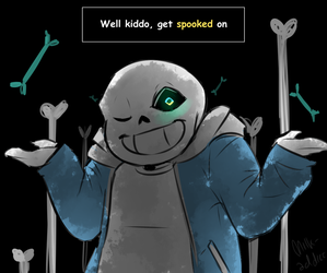 Spooky Scary Sans-a-ton by Milk-Addicc