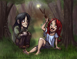 Harry Potter DH: BFF by Bilious