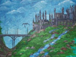 CASTLEVIEW1 by blackthornart