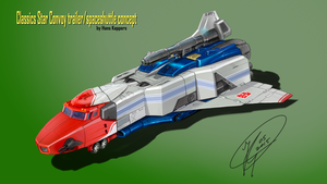Classics Star Convoy Spaceshipmode concept by hansime