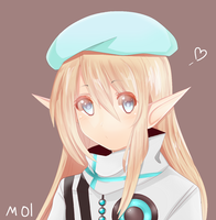 [UTAU] Aino Erufu by TheSleepingmol
